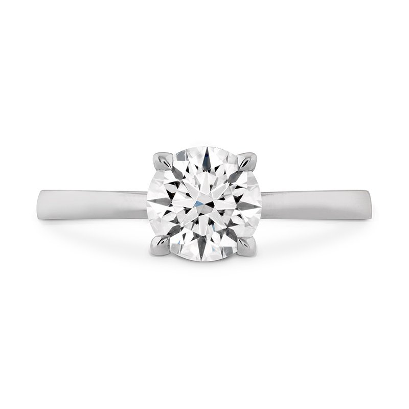 Hearts on Fire HOF Signature Solitaire Engagement Ring