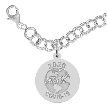 Covid-19 World Faith Bracelet Set