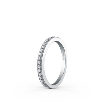 Kirk Kara Platinum Diamond Wedding Band