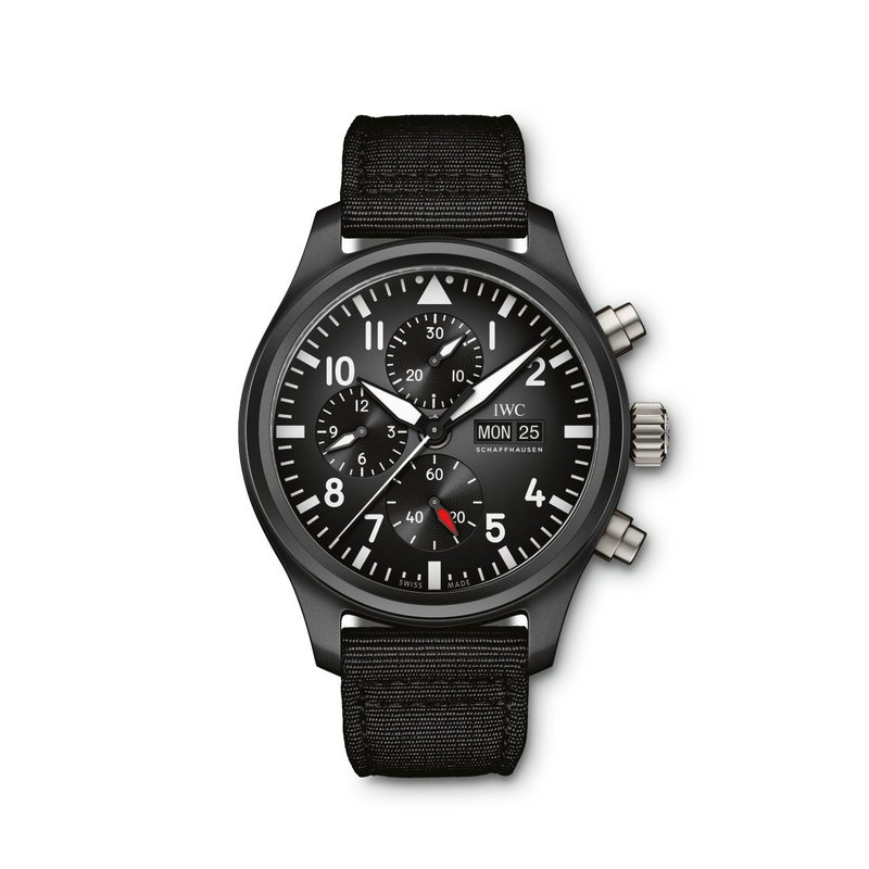 IWC Schaffhausen Pilot's Watch Chronograph Top Gun
