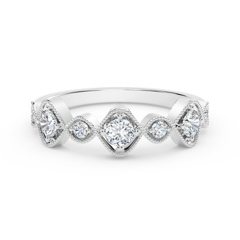 The Forevermark Tribute™Collection Vintage Stackable Ring