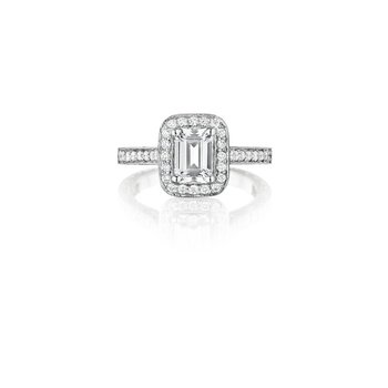 Emerald Cut Penelope Ring