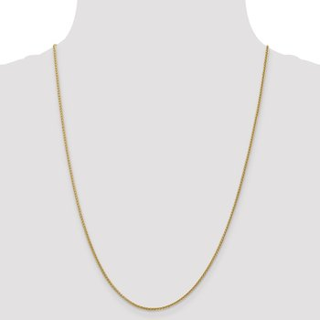 14k 1.55mm Semi-Solid Wheat Chain