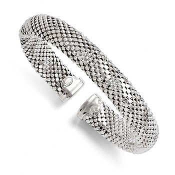 Leslie's Sterling Silver Flexible Bangle
