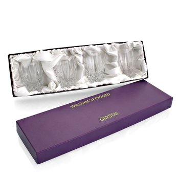 Vita Gift Box Set - 4 Clear Shot Tumblers
