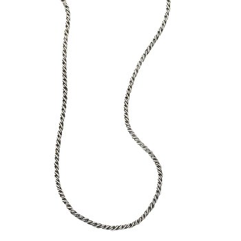 Sterling Silver Twisted Rope Chain