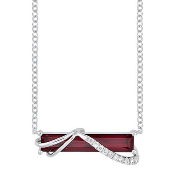 Ruby Necklace-CPN0014WRU