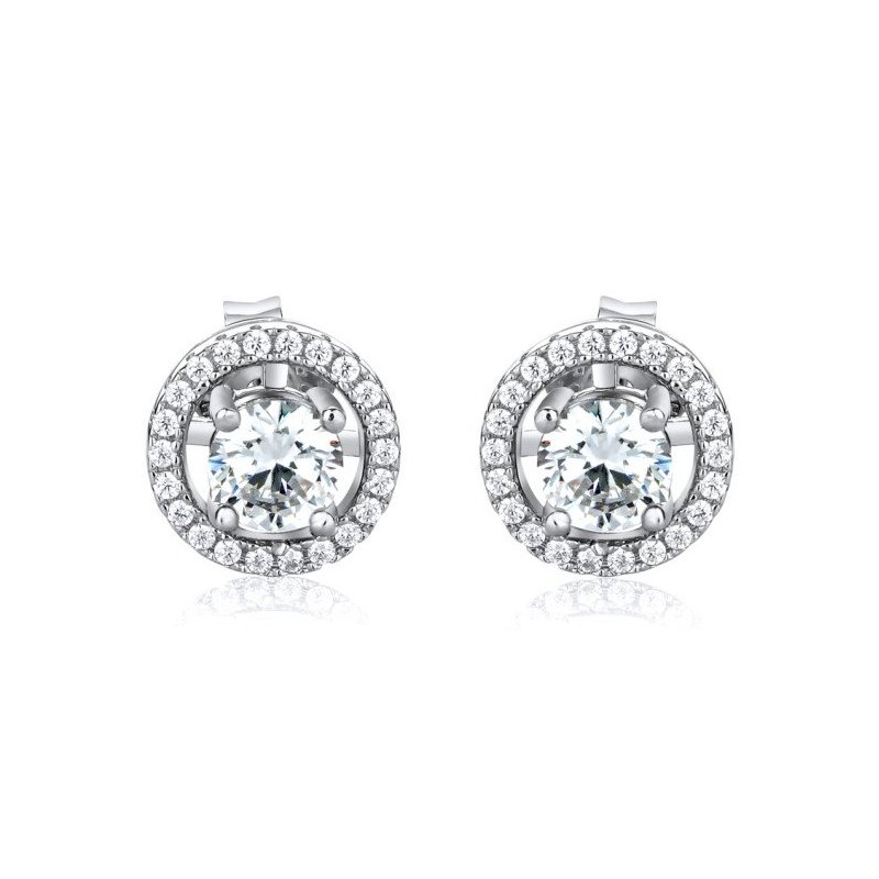 LARUS Jewelry Sparkling Stud Earrings