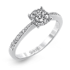 Simon G MR2658 ENGAGEMENT RING
