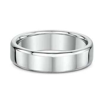 6mm Round Edge Wedding Band