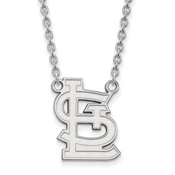 Sterling Silver St. Louis Cardinals MLB Necklace