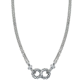 Figure Eight Traversa Necklace