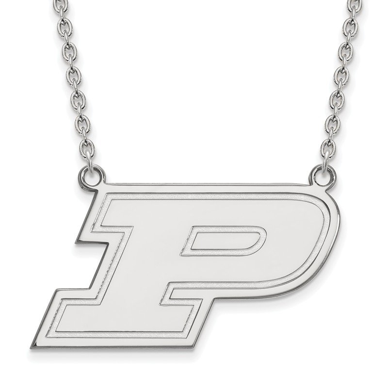 NCAA Sterling Silver Purdue University NCAA Necklace