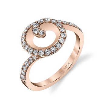 MARS 26575 Fashion Ring, 0.52 Ctw.