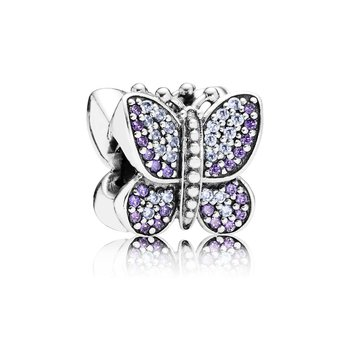 Sparkling Butterfly, Purple Cz