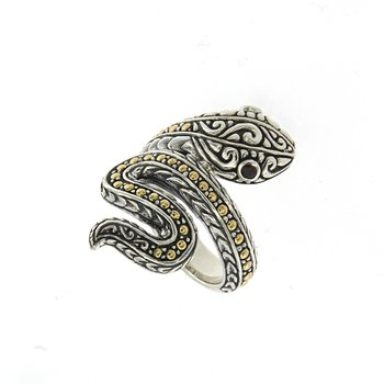 Scarlet Serpent Ring