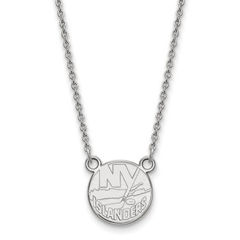 Gold New York Islanders NHL Necklace