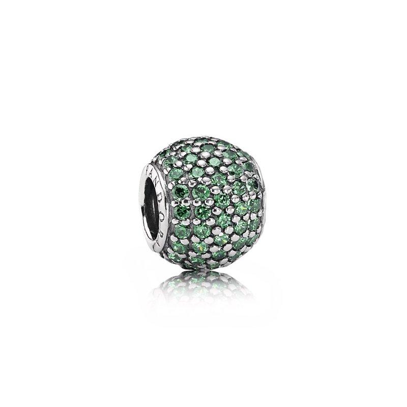 2500c7d47 Saxon's Diamond Centers: PANDORA Pavé Lights Charm, Dark Green Cz