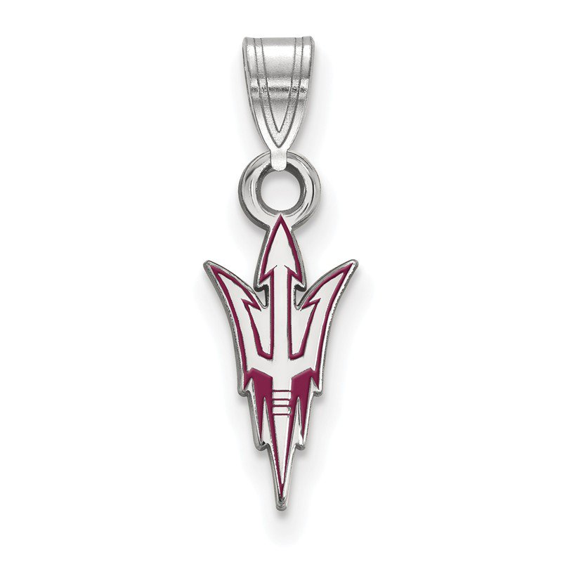 NCAA Sterling Silver Arizona State University NCAA Pendant
