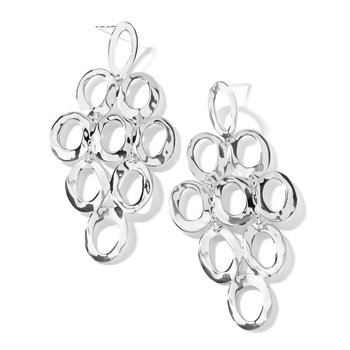 Ippolita sterling Classico open cascade earrings. Available at our Halifax store.