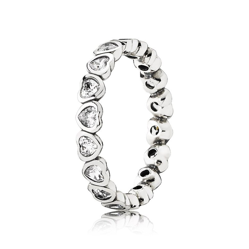 ad1796f8a David Arlen Jewelers: PANDORA Forever More Stackable Ring, Clear CZ