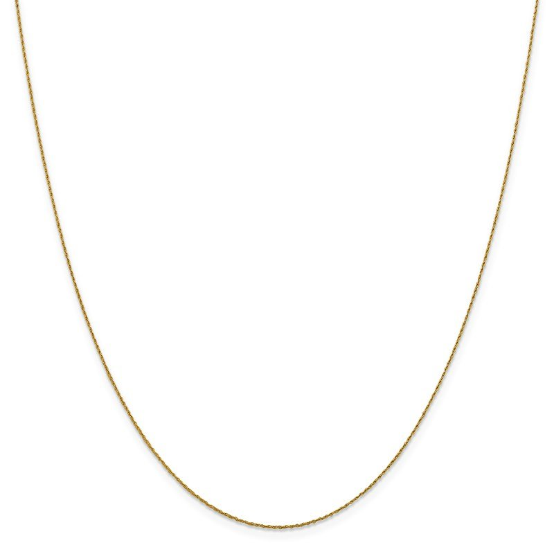 Leslie's Leslie's 14K .8mm Loose Rope Chain