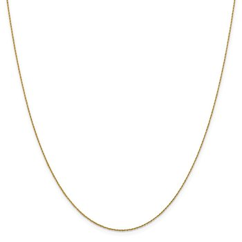 Leslie's 14K .8mm Loose Rope Chain