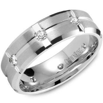 CrownRing Men's Wedding Band WB-7309