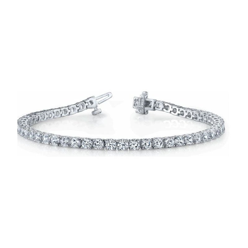 S. Kashi  & Sons Diamond Bracelet Four Prong Basket Style