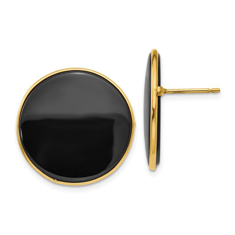 Lester Martin Online Collection 14k Black Onyx Earrings