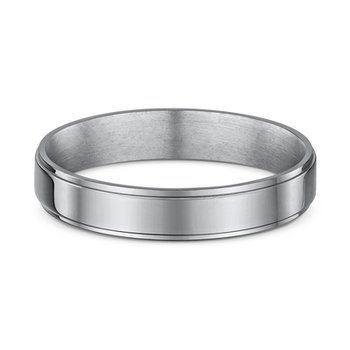 4mm Side Cut Wedding Band