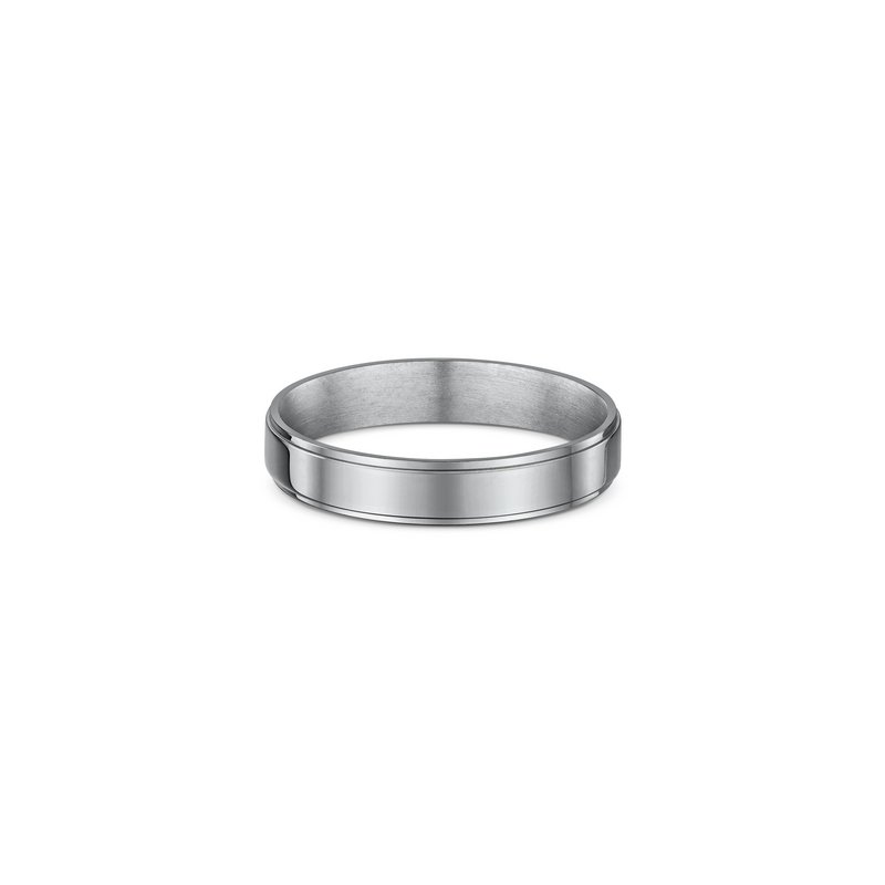 Dora 4mm Side Cut Wedding Band