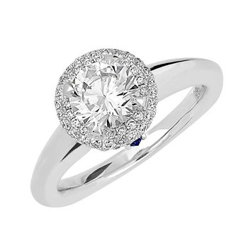 Bridal Ring-RE12668W10R