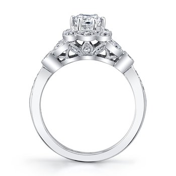 MARS 27174 Diamond Engagement Ring, 0.25 Ctw.