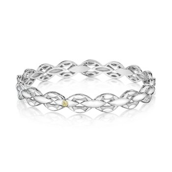 Bold Silver Links Bracelet