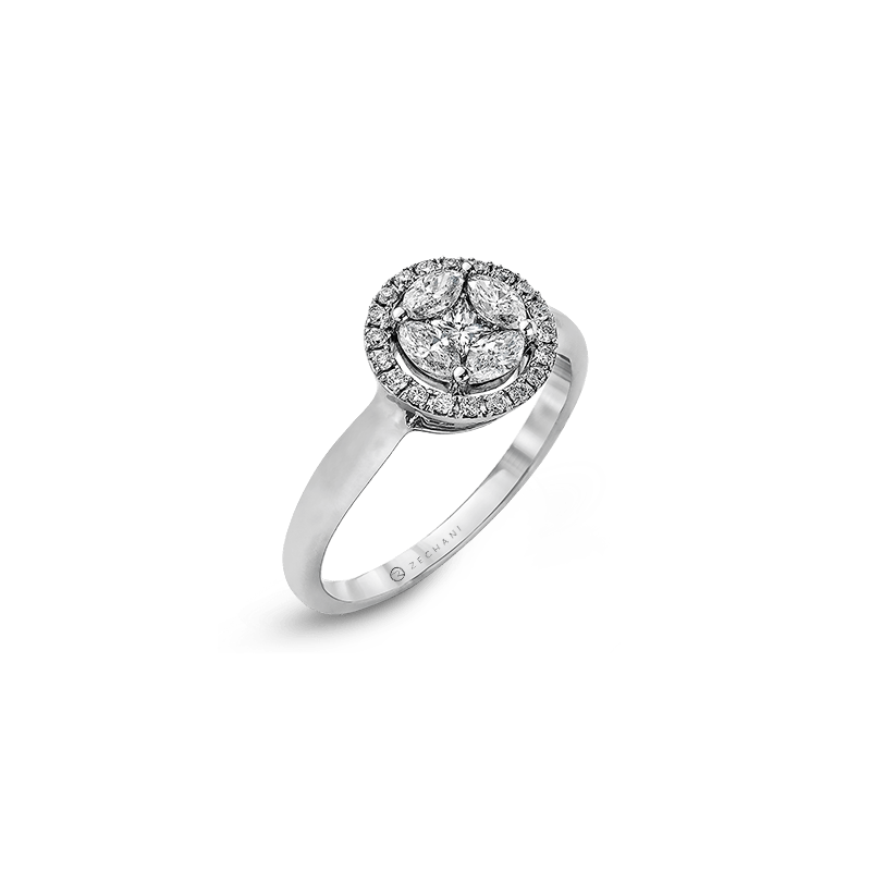 Zeghani ZR964 ENGAGEMENT RING