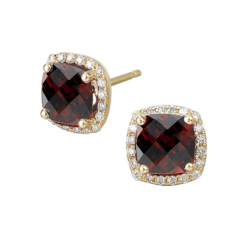 Tesoro Ladies Fashion Gemstone Earrings
