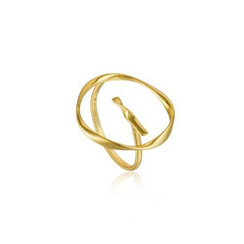 Twist Circle Adjustable Ring