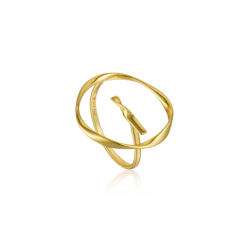Ania Haie Twist Circle Adjustable Ring