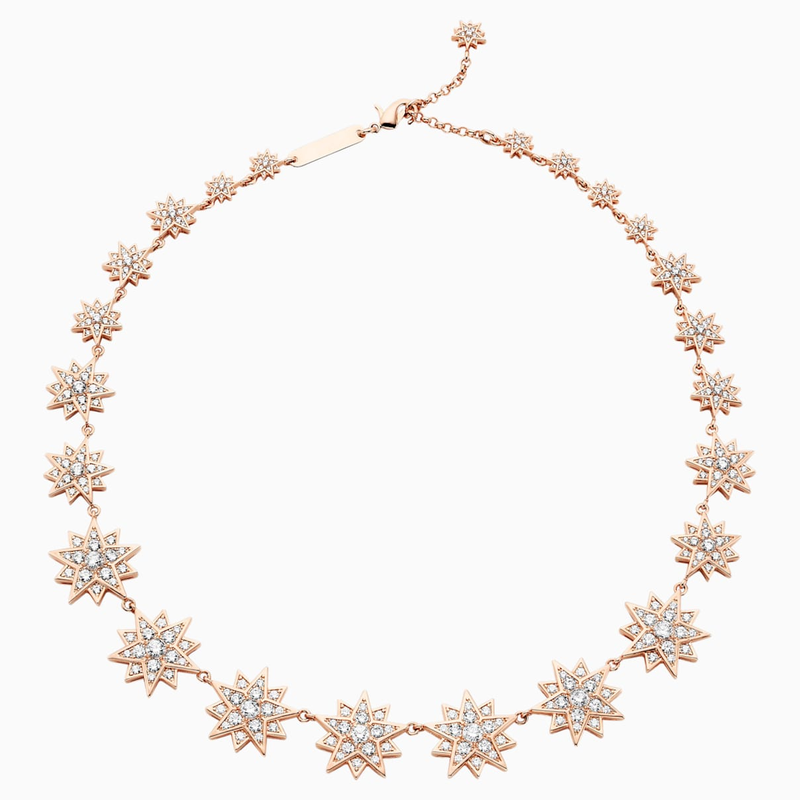 Swarovski Penélope Cruz Moonsun Necklace, Limited Edition, White, Rose-gold tone plated
