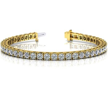 Prong Set Tennis Bracelet