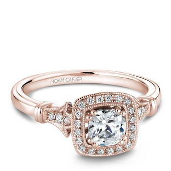 Noam Carver Fancy Engagement Ring B076-01RA