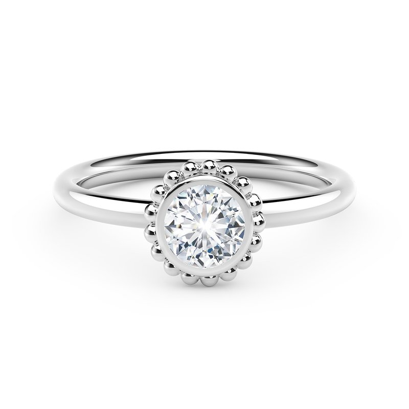 Forevermark The Forevermark Tribute™ Collection Beaded Diamond Ring