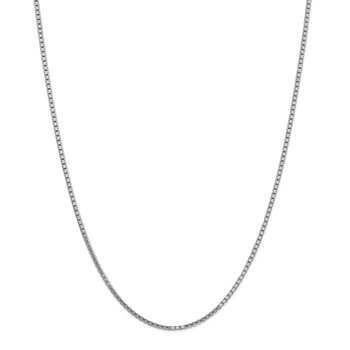14k WG 1.9mm Box Chain