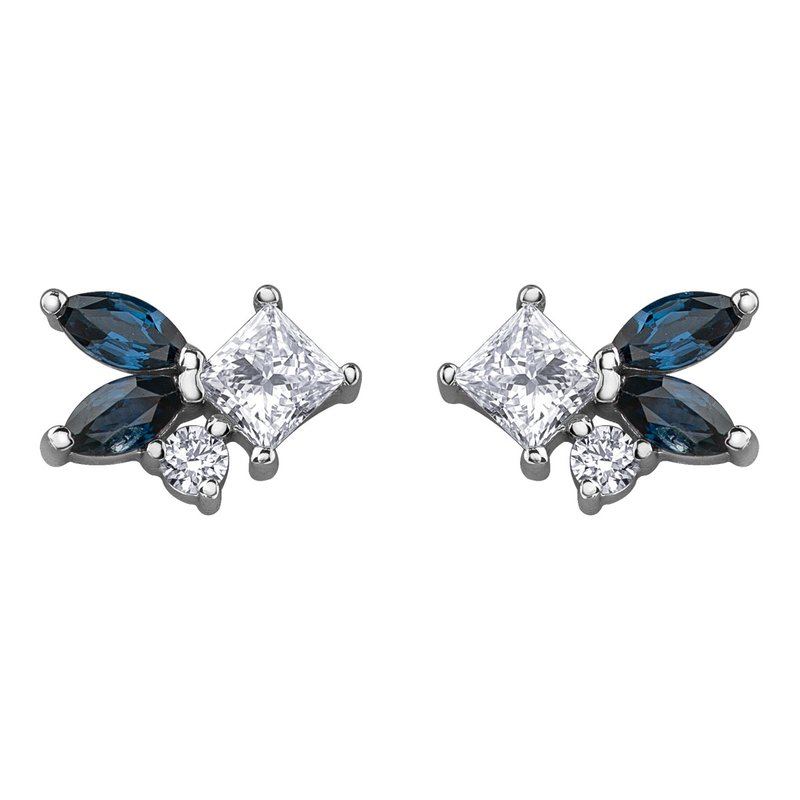 Timeless Beauty Maple Leaf Diamonds™ Earrings