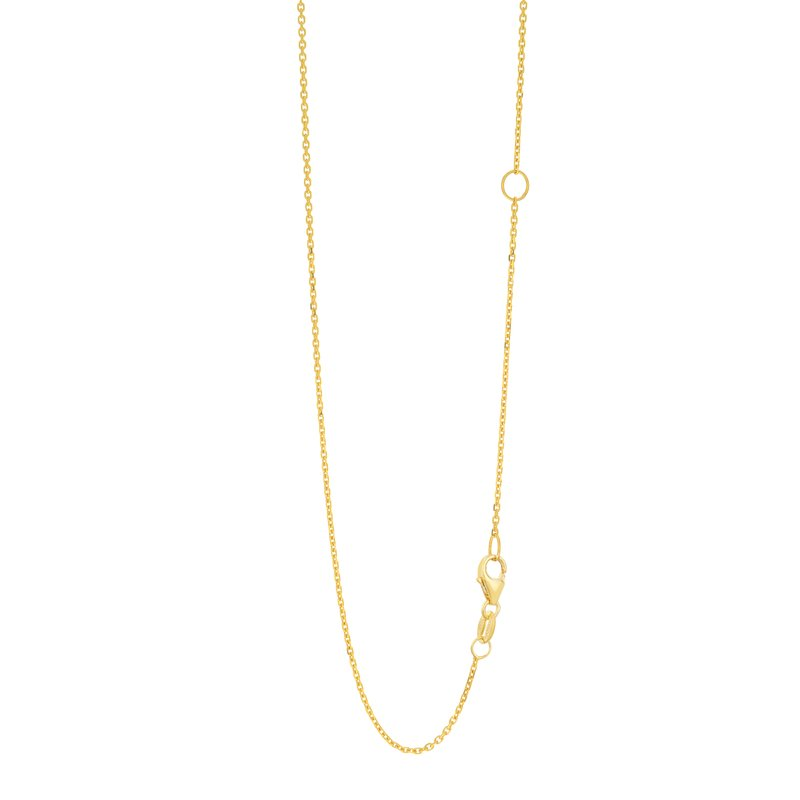 Royal Chain 14K Gold 1.1mm Extendable Chain