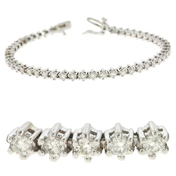Tennis Bracelet All Diamond