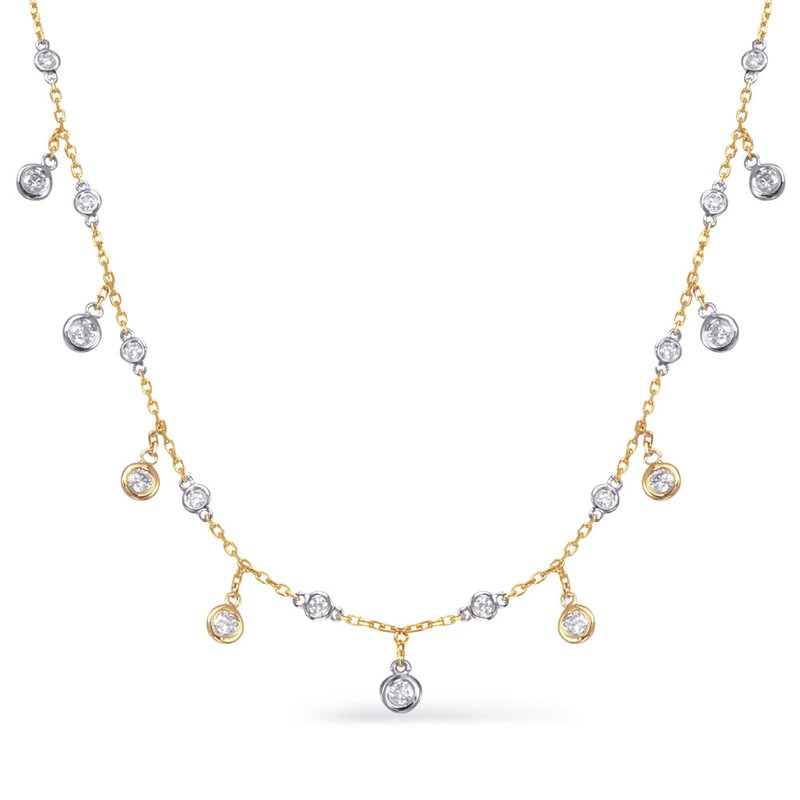 S. Kashi  & Sons Diamond By The Yard Necklace