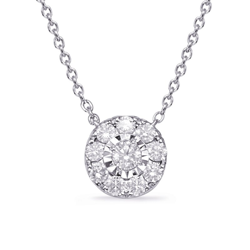 S. Kashi  & Sons White Gold Diamond Necklace