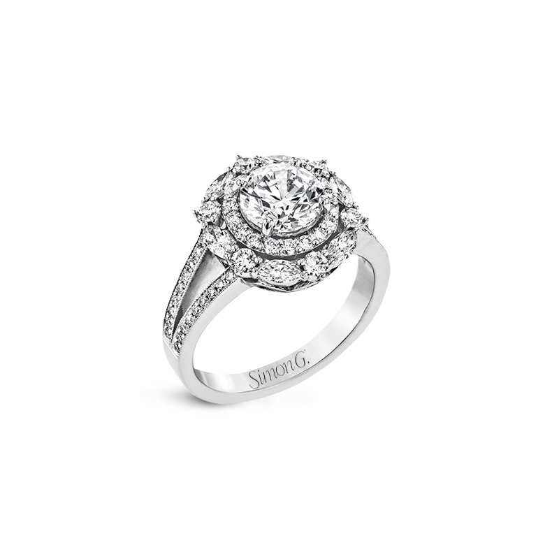 Simon G LR2386 ENGAGEMENT RING